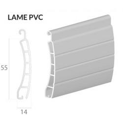 Volet traditionnel lames PVC - 1000(L) x 1000(H)